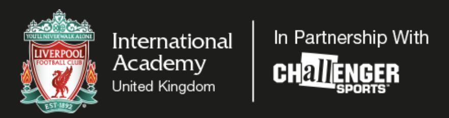 Liverpool FC International Academy in partnership with Challenger Sports logo